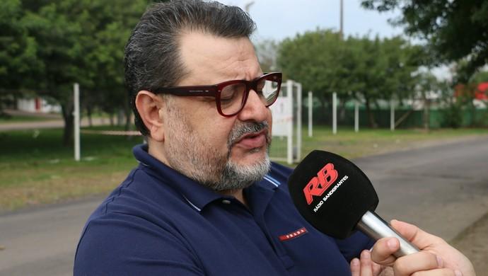 Jorge Machado empresário (Foto: Tomás Hammes / GloboEsporte.com)