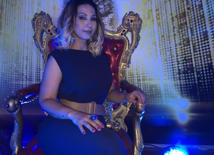 valesca popozuda faz show no dança dos famosos (Foto: Gshow)