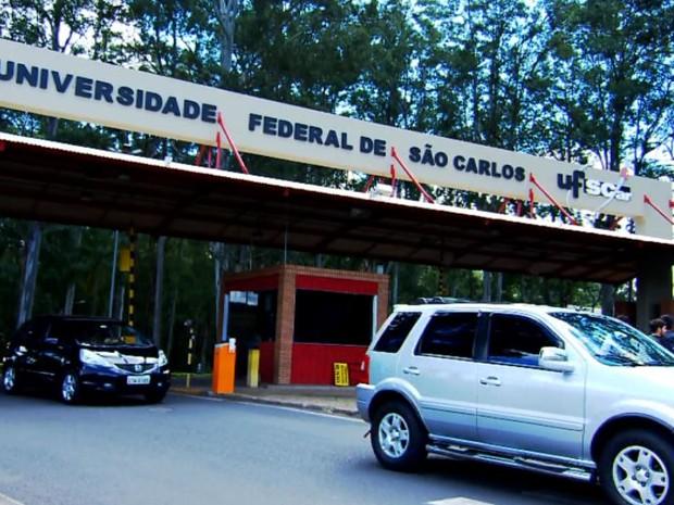 Campus da UFSCar em São Carlos (Foto: Reprodução/ EPTV)