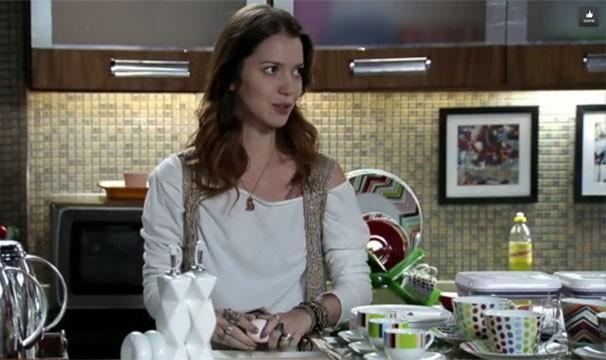 Os cabelos da Débora agradaram em cheio o gosto das telespectadoras (Foto: Divulgação/TV Globo)