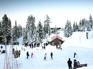 Estação esqui Canadá (Foto: Divulgação/Grouse Mountain)