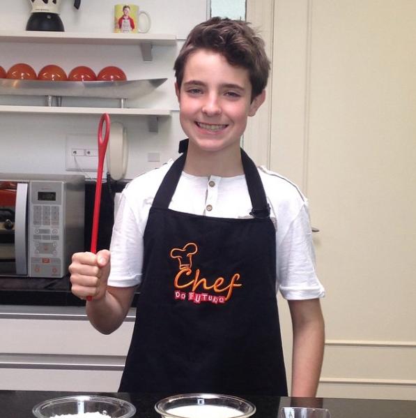 O filho de Gugu tem um canal culinário na web (Foto: Reprodução / Instagram)