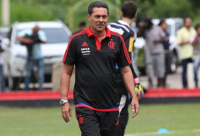 Luxemburgo Treino do Flamengo (Foto: Gilvan de Souza / Flamengo)