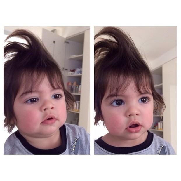 Shakira posta foto do filho, Milan (Foto: Instagram / Reprodução)