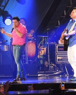 Bruno e Marrone (Foto: Silvio Túlio/G1)