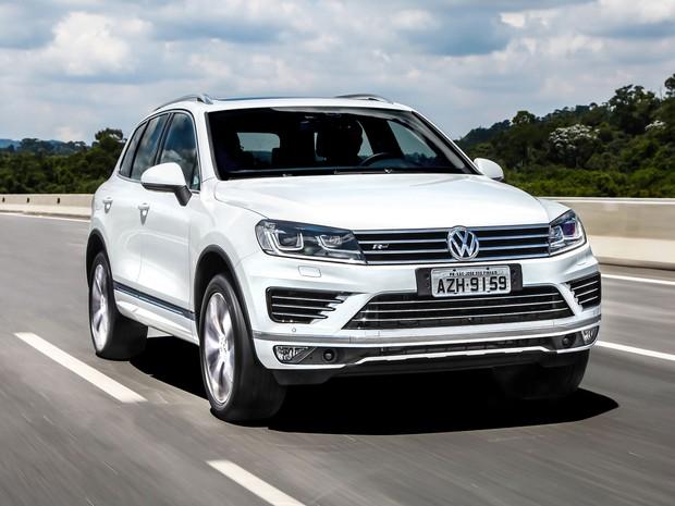 Volkswagen Touareg V8 R-Line 2015 (Foto: Divulgação)