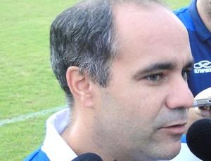 Sérgio Freire Júnior, médico do Cruzeiro (Foto: Marco Antônio Astoni / Globoesporte.com)