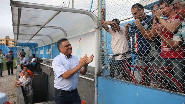 Benazzi quer contar com o apoio da torcida bicolor diante do BOA (Foto: Igor Mota/Amazônia Hoje)