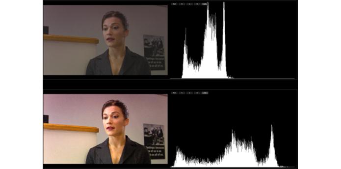 Monitores com má relação de contraste podem apresentar problemas na exibição de imagens com bastante diferenças de luminosidade, como a imagem mostra (Foto: Divulgação/Apple)
