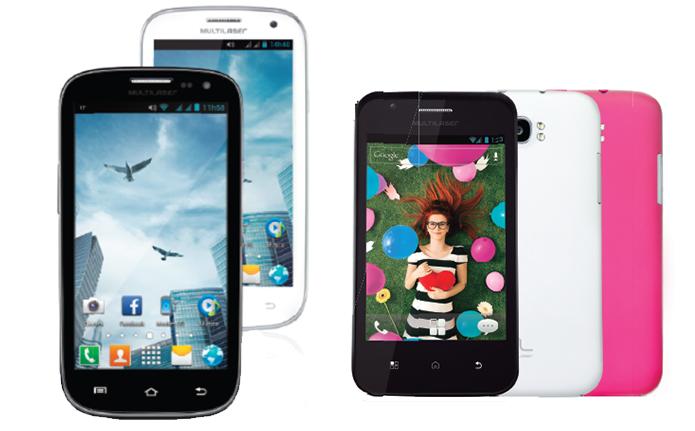 City e Trend são novas apostas da Multilaser para mercado de smartphones Android de baixo custo (Foto: Divulgação/Multilaser) (Foto: City e Trend são novas apostas da Multilaser para mercado de smartphones Android de baixo custo (Foto: Divulgação/Multilaser))