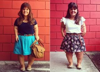 Blogueira Mini Look do dia (Foto: Divulgação)
