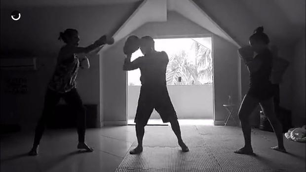 Fernanda Souza e Bruna Marquezine (Foto: Reprodução/Snapchat)