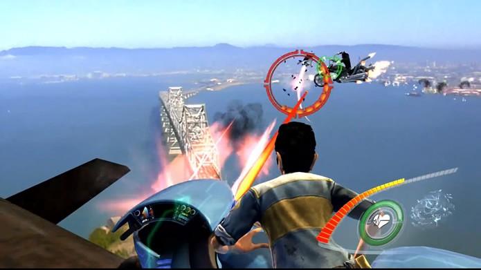Exibindo cenários com um visual razoável, o game possui uma dinâmica repetitiva e previsível (Foto: Reprodução/Daniel Ribeiro)
