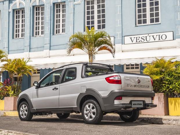 Fiat Strada 2014 Trekking (Foto: Divulgação)