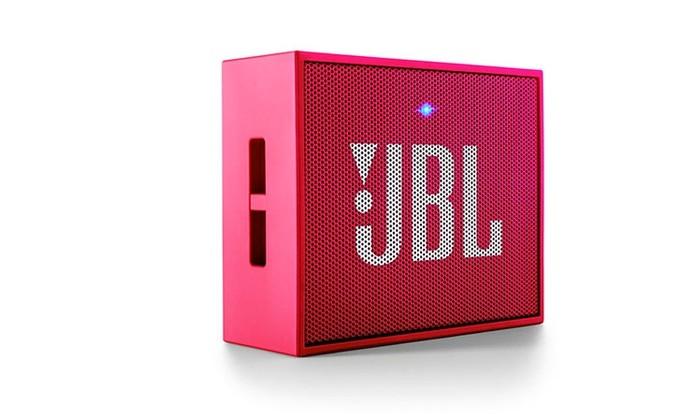 JBL GO oferece conexão Bluetooth e design em diferentes cores (Foto: Divulgação/JBL)