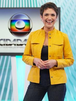 Sandra Annenberg, a nova apresentadora do Globo Cidadania (Foto: Divulgação)