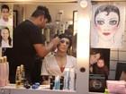 Claudia Raia mostra os bastidores de 'Cabaret' para o EGO