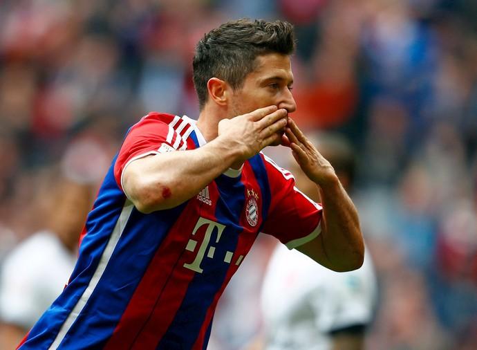 Lewandowski Bayern de Munique Eintracht Frankfurt (Foto: Reuters)