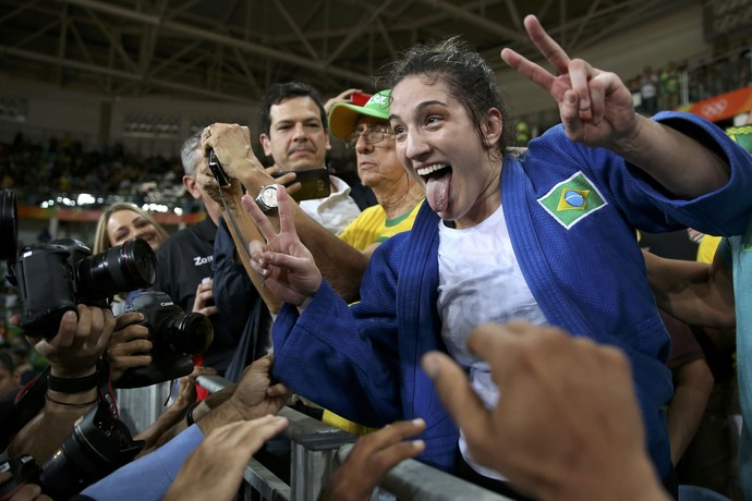 mayra aguiar bronze brasil judô (Foto: Toru Hanai / Reuters)