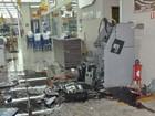 Ladrões explodem caixa eletrônico dentro de mercado no norte do PR