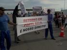 Moradores de Porto Belo protestam por implantação de retorno na BR-101
