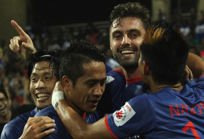 André Moritz Mumbai x Pune City (Foto: Divulgação/Indian Super League)