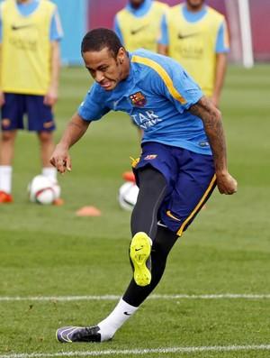 Neymar treino Barcelona (Foto: Reprodução / Facebook)