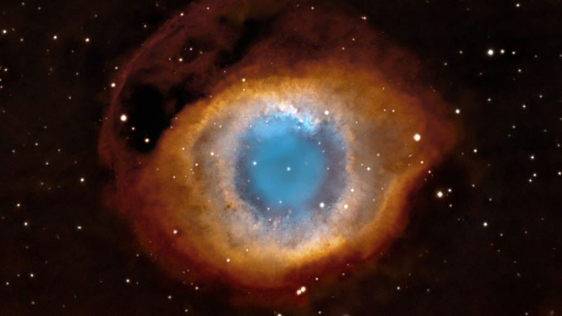 """Nebulosa Hélix ou """"Olho de Deus"""" (Foto: NASA/ESA/C. Robert O'Dell )"""