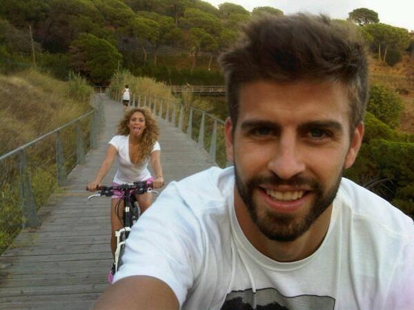 Shakira e Piqué (Foto: Reprodução/Instagram)