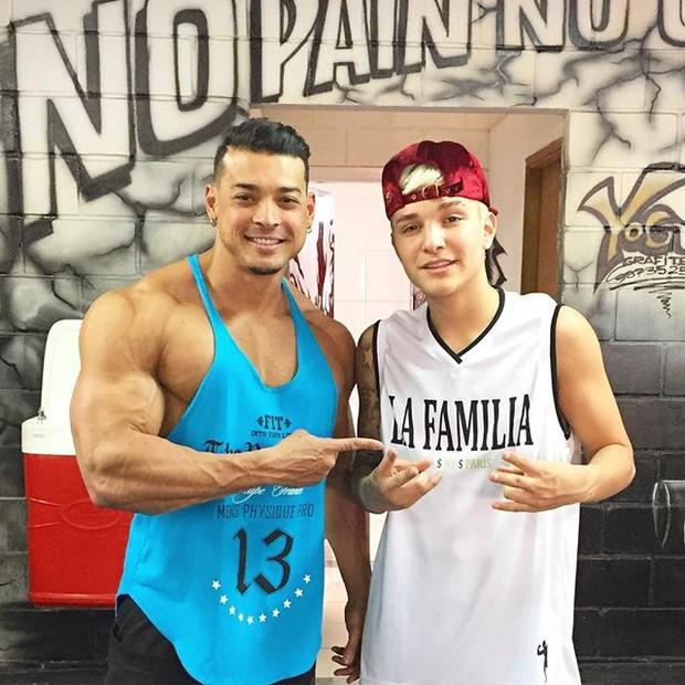 Mc gui e Felipe Franco (Foto: reprodução/instagram)