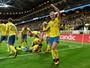 Órfã de Ibra, Suécia faz golaço, mas cede empate à Holanda, sem Robben