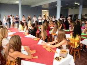 Candidatas do Garota Verão chegam a Capão da Canoa para a grande final (Foto: Rafael Torres Atz/Divulgação)