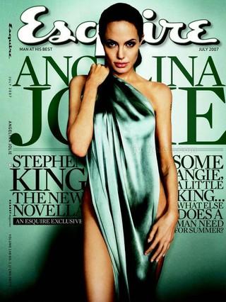 Angelina Jolie foi eleita pela imprensa mundial como uma das mulheres mais sexy da atualidade (Foto: Reprodução da Internet)