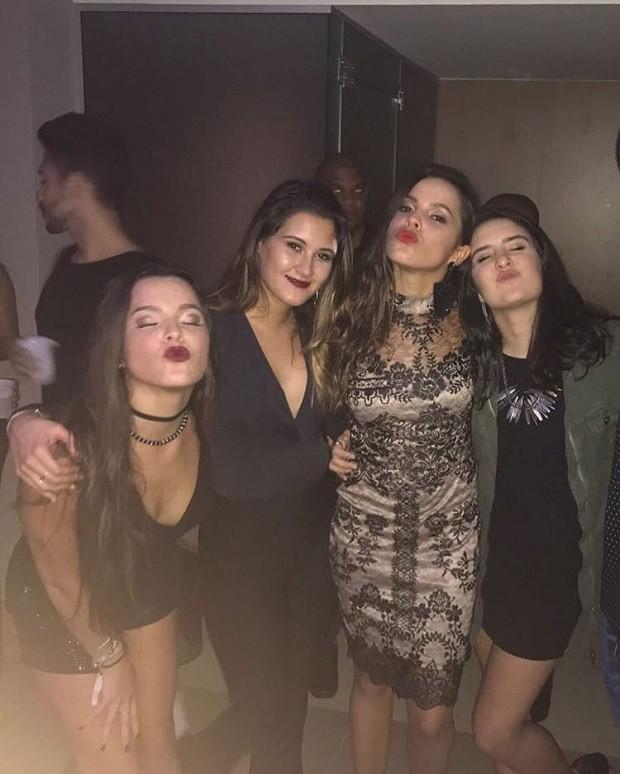 Mayla, Laura, Emilly e Bia (Foto: Instagram / Reprodução)