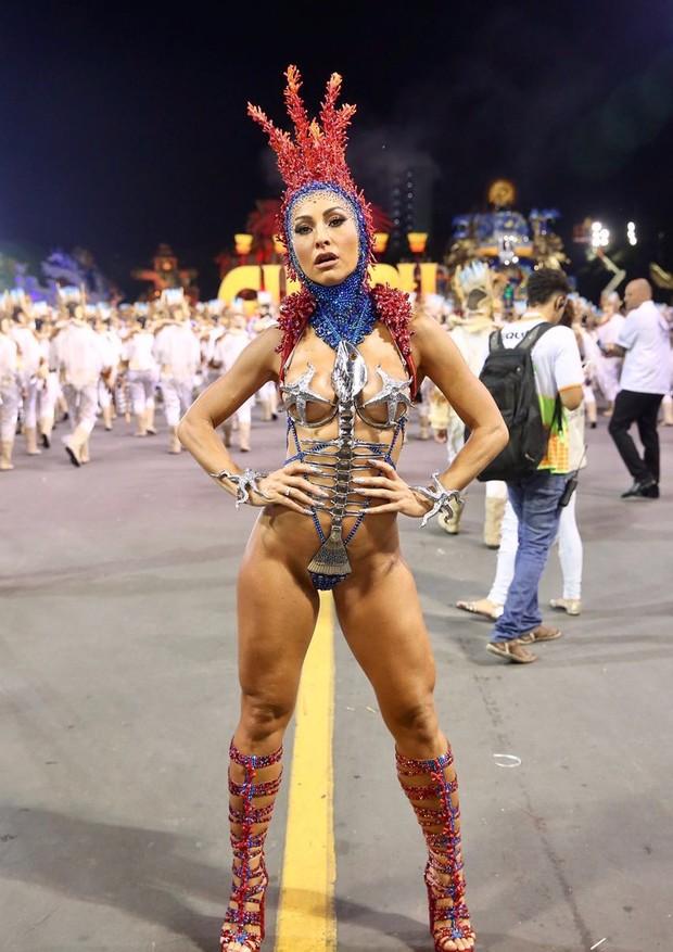 Sabrina Sato na Gaviões da Fiel 2018 (Foto: Agência Brazil News)
