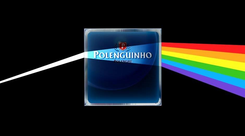 Imagem em postagem da Polenguinho, inspirada em álbum do Pink Floyd, foi identificada como 'propaganda LGBT' por usuários (Foto: Divulgação)