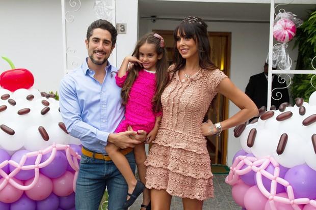 Aniversário de Donatella, filha de Marcos Mion (Foto: Amauri Nehn/Foto Rio News)