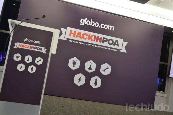 Hack in PoA acontece em Porto Alegre com o apoio da Globo.com (Foto: Melissa Cruz / TechTudo)