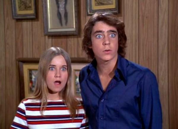 Maureen Mccormick e Barry Williams (Foto: Divulgação)