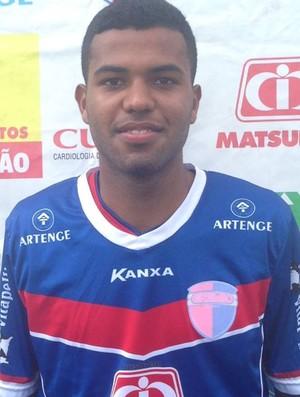 Vitor Hugo dos Santos, atacante, Grêmio Prudente (Foto: Grêmio Prudente / Divulgação)