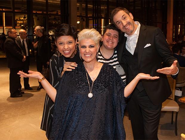 Kell Smith, Naíma, Ana Vilela e Alexandre Costa (Foto: Lailson Santos/ Divulgação)