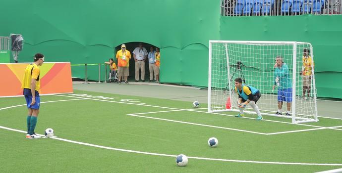 futebol de 5, paralimpíada (Foto: Hector Werlang)