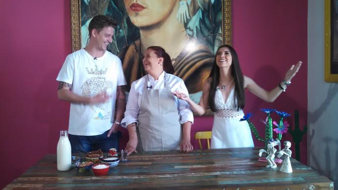 Troca de Receitas ensina prato mexicano para o Natal (Foto: RBS TV/Divulgação)