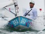 Bruno Fontes vai bem no ltimo dia da Laser, mas fica fora da medal race 