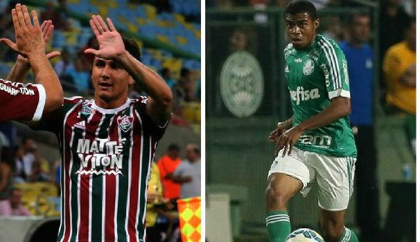 Fluminense x Palmeiras (Foto: montagem/GE)
