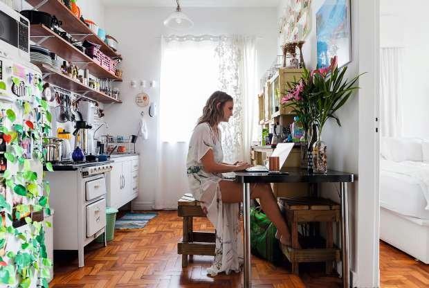 Apartamento Flavia Brunetti (Foto: Lufe Gomes/Life By Lufe)