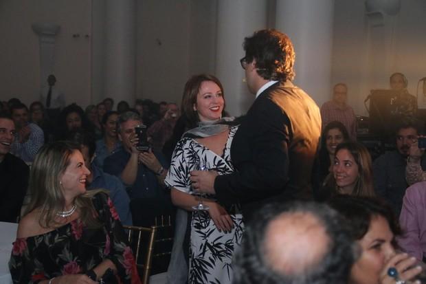 Lúcio Mauro Filho e Guta Stresser (Foto: Daniel Pinheiro/AgNews)