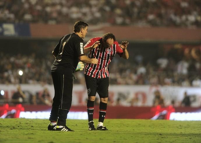 Rogério Ceni São Paulo Zetti (Foto: Marcos Ribolli)