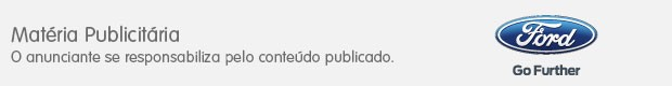 Footer Ford publicitário (Foto: SuperStar/TV Globo)
