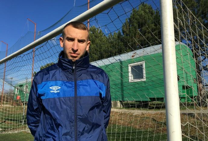 Milan Djuricic FK Lokomotiva Sérvia (Foto: Ivan Raupp)